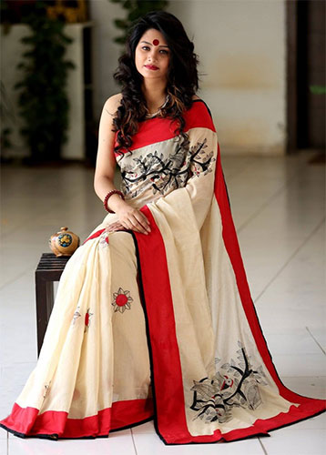 How Chanderi Saree is always better choice than other Silk Sarees