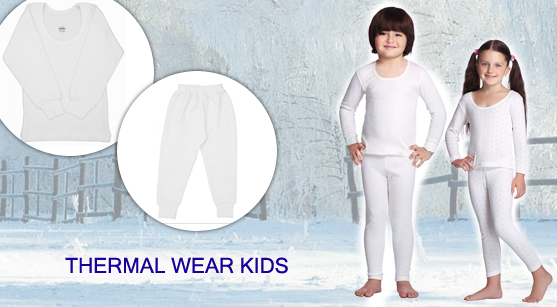 How to buy the thermals for kids online in India and buys thermals online?