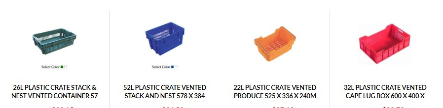 Description of plastic bin and how to buy it?