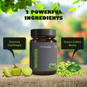 Garcinia Cambogia and Green Coffee Beans Capsules