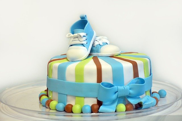 Cherish Your Baby Shower Cake Design, Forever and Ever